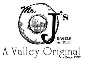 Mr. J's Bagels - a Valley favorite and proud supporter of the Denton Fall Golf Classic